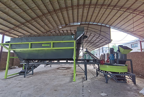 小型有机肥生产线设备建厂工艺方案