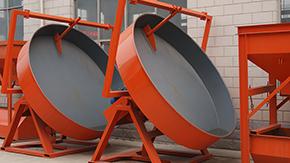 圆盘造粒机适用的物料范围及特点